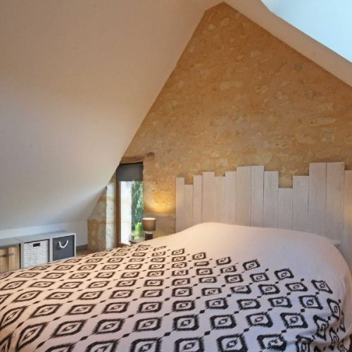 chambre sous toit gîte